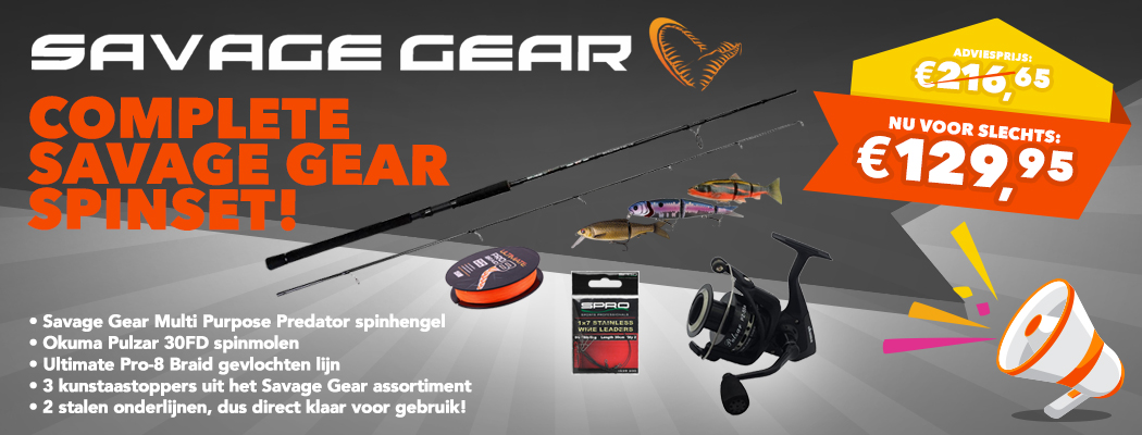 Savage Gear spinset
