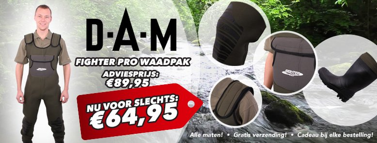 Dam Fighter Pro Waders