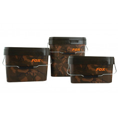 Fox Camo Square Buckets (10 Liter)