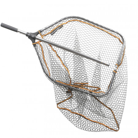 Savage Gear Pro Folding Rubber Large Mesh Landing Net 'Xtra Large' (70x85cm)
