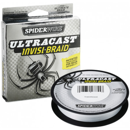 Spiderwire Ultracast 8 Carrier Invisi-Braid 0,12mm (110m)