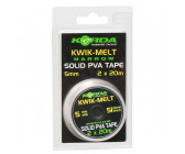 Korda Kwik-Melt Solid PVA Tape 5mm Narrow