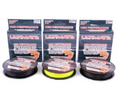 Ultimate High Performance Power Braid 0.18mm Geel (150m)