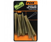 Fox Edges Naked Line Tail Rubbers Trans Khaki