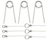 Spro Softbait Pin Assorti (9stuks)