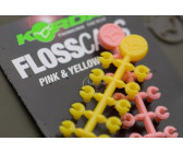 Korda Flosscaps 'Pink & Yellow'