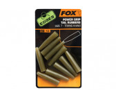 Fox Edges Power Grip Tail Rubbers Size 7 Trans Khaki