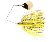 Spro Micro Ringed Spinnerbait 'Chartreuse Belly' (8cm) (5g)