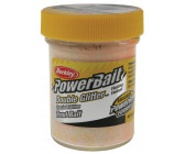 Berkley Powerbait Double Glitter Twist 'Chartreuse White Orange'