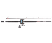 Abu Garcia Muscle Tip 2 Sections Boat Combo Set RH 2,10m (15-40lb)