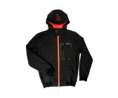 Fox Black/ Orange Softshell Hoody L