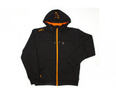 Fox Black/ Orange Heavy Lined Hoody XXXL