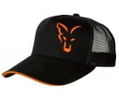 Fox Trucker Cap (Black & Orange)
