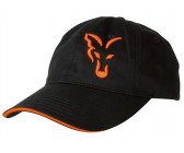 Fox Baseball Cap (Black & Orange)