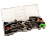 Fox MK2 Illuminated Swinger Set 4 Rod (Red, Orange, Green & Blue)