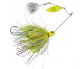 Savage Gear Da'Bush Spinnerbait Yellow Silver Holo Flame Size 4 (42g)