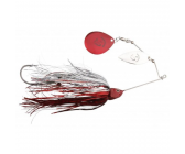 Savage Gear Da'Bush Spinnerbait Red Silver Flash Size 4 (42g)