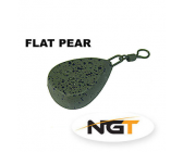 NGT Flat Pear Lead 70g