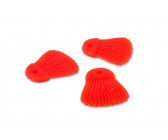 Fox Rage Cat Bait Fins 'Red' (10 stuks)