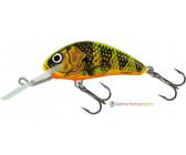 Salmo Hornet Floating 'Gold Fluo Perch' 3,5cm (2,2g)