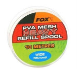 Fox PVA Wide Refill Spool Heavy Mesh 10m