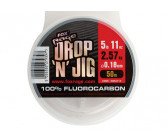 Fox Rage Drop 'N' Jig Fluorocarbon 0.40mm (50m)