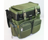 NGT Session Seat Box System With Canvas Backpack