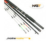 NGT Marinemaster Strand/Boot Combi Hengel (2,4m of 1,8m) (50-100g)