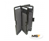 NGT 6 Way 72 Stiff Rig Wallet (25 x 9 x 4.5cm)