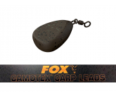 Fox Camotex Swivel Flat Pear 42g/ 1.5oz lood
