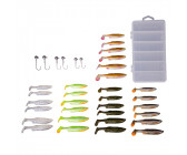 Savage Gear Fat Minnow T-Tail Kit (30+6pcs)
