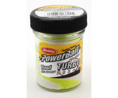 Berkley Powerbait Select Glitter Turbo Dough 'White Chartreuse'