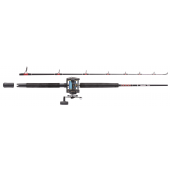 Abu Garcia Muscle Tip 2 Sections Boat Combo Set RH 1,80m (15-40lb)