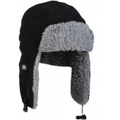 Eiger Fleece Korean Hat Maat S / M 'Black'