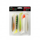 Fox Rage Spikey Shad Mixed Colours 6cm