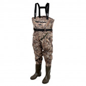 Prologic MAX5 Nylo-Stretch Chest Waders W/Cleated Sole Maat 44/45