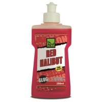 Rod Hutchinson Aas Booster 'Red Halibut' (250ml)