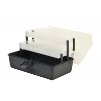 Shakespeare Cantilever Box 'Clear/Black' (30x17x14cm)