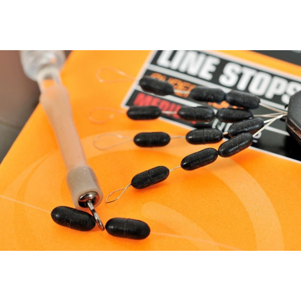 Guru Super Tight Line Stoppers 'Medium' 6mm (12stuks)