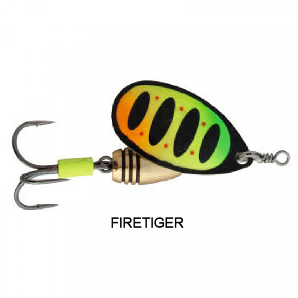 Savage Gear Rotex Spinner FireTiger #1 (3.5g)