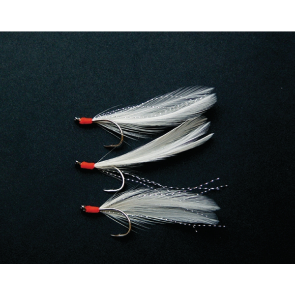 Shakespeare Salt XT Lure Rig 'Mackerel Feathers White'