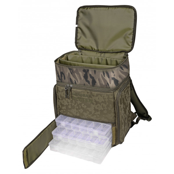 Spro Double Camouflage Deadbait Backpack