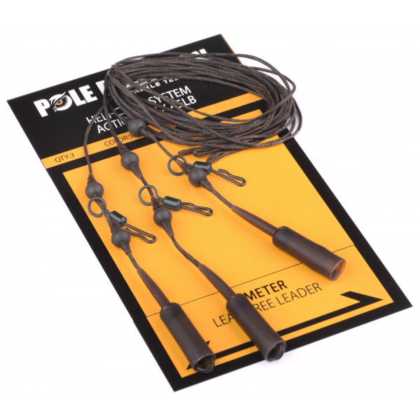 Pole Position Heli-Chod Action Pack 65lb Silt