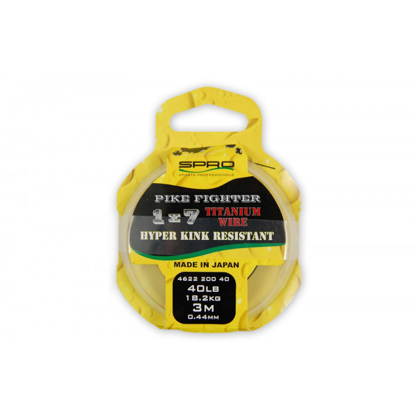 Spro Pike Fighter Titanium Wire 1x7 30 lbs