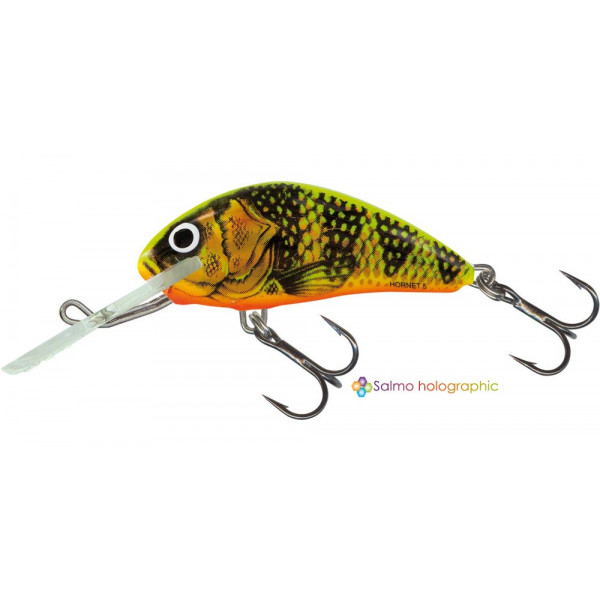 Salmo Hornet Floating 'Gold Fluo Perch' 6cm (10g)