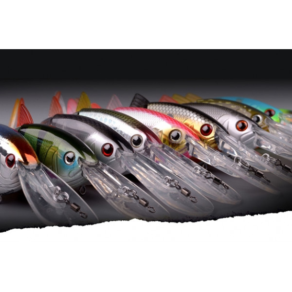 Spro Swimbait BBZ-1 4 Crank-N-Shad sexy blue back