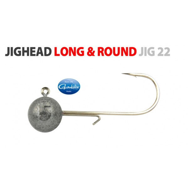 Spro Jighead Long & Round-7,0gr-4/0