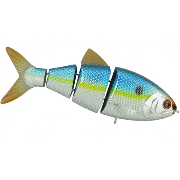 "Spro Swimbait BBZ 1 10cm 4"" Drijvend Metallic sexy blue back"