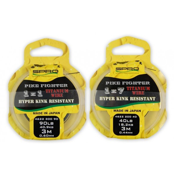 Spro Pike Fighter Titanium Wire 1x7 40 lbs