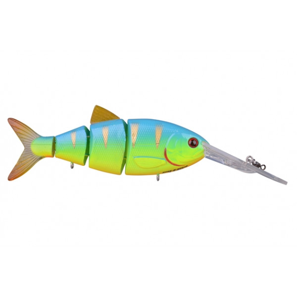 Spro Swimbait BBZ-1 4 Blue back chartreuse